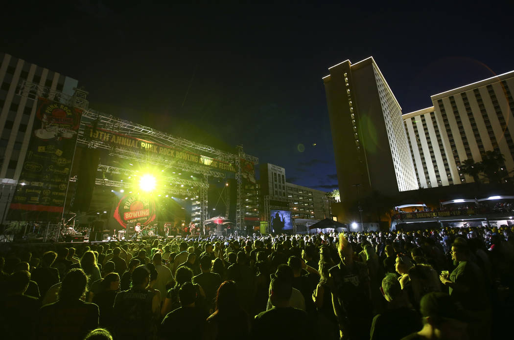 OFF! performs during Punk Rock Bowling at the Downtown Las Vegas Events Center on Saturday, May 27, 2017. Chase Stevens Las Vegas Review-Journal @csstevensphoto