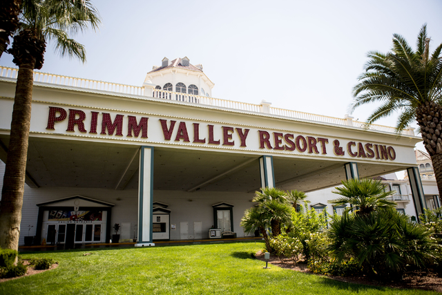 The Primm Valley Resort and Casino's entrance on Tuesday, Aug. 23, 2016, in Primm. Elizabeth Page Brumley/Las Vegas Review-Journal Follow @ELIPAGEPHOTO