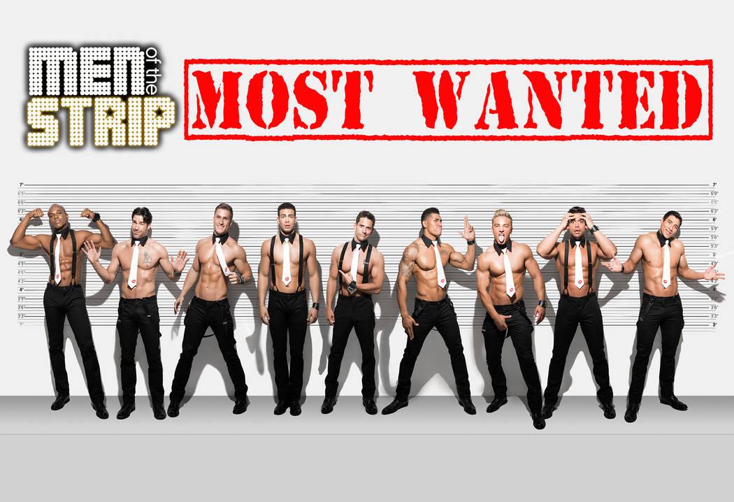 Men of the Strip in 2013. (courtesy)