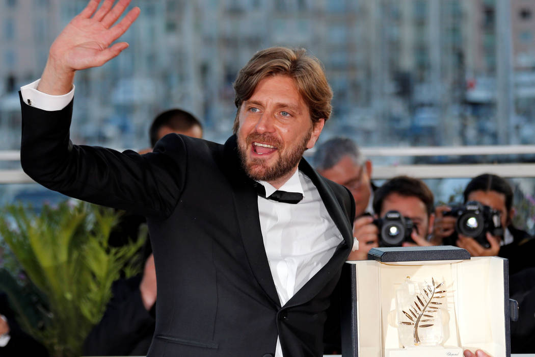 "Director Ruben Ostlund, Palme d'Or award winner for his film ""The Square"", at the 70th Cannes Film Festival in Cannes, France. (Jean-Paul Pelissier/Reuters)"