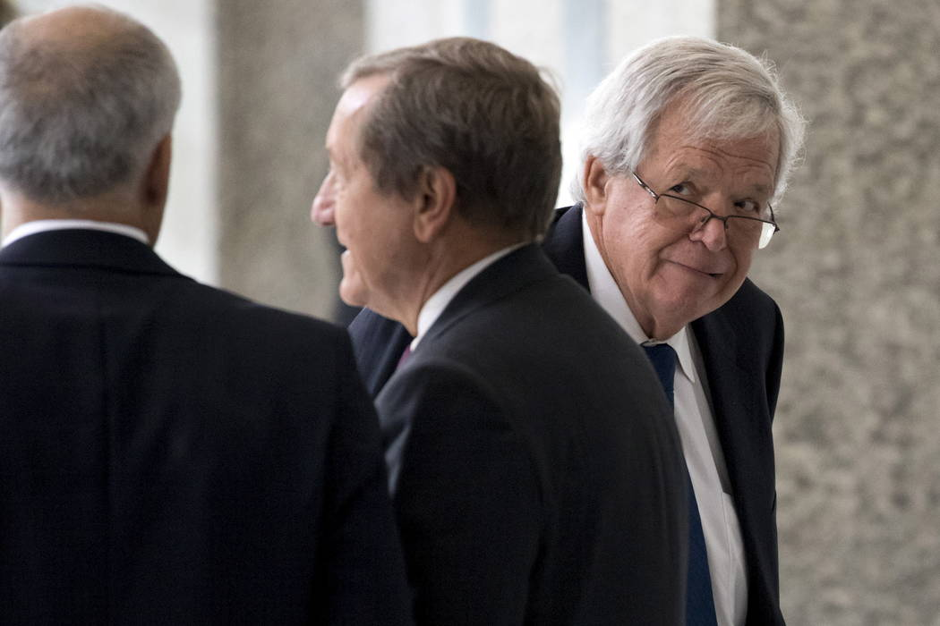 Former U.S. House of Representatives Speaker Dennis Hastert arrives for an appearance in federal court in Chicago June 9, 2015. (Andrew Nelles/Reuters)