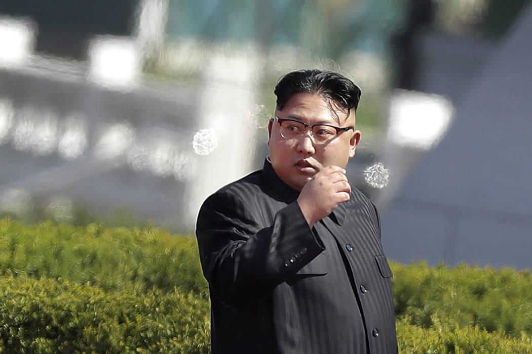 North Korean leader Kim Jong Un (Wong Maye-E/AP)