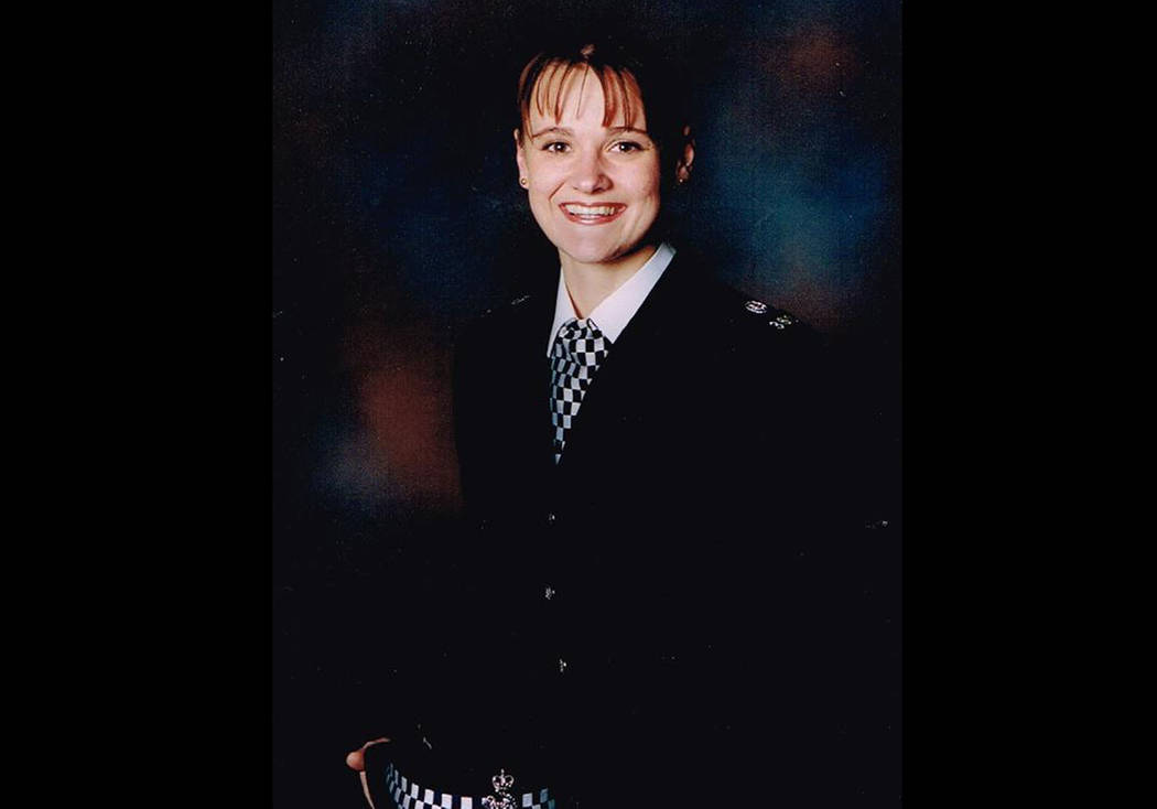 This undated handout photo provided by Cheshire Police shows Elaine McIver, a policewoman who was killed in the blast at the Manchester Arena on Monday, May 22, 2017. The bombing at a Manchester c ...