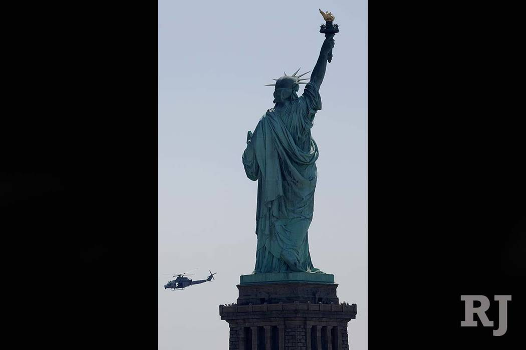 The Statue of Liberty (AP)