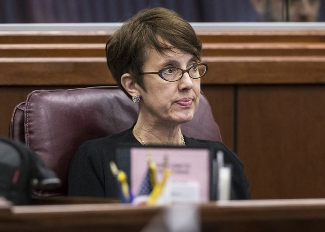Assemblywoman Heidi Swank, D-Las Vegas (Benjamin Hager/Las Vegas Review-Journal) @benjaminhphoto
