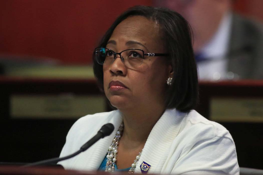 Assemblywoman Daniele Monroe-Moreno, D-North Las Vegas. (Brett Le Blanc/Las Vegas Review-Journal)