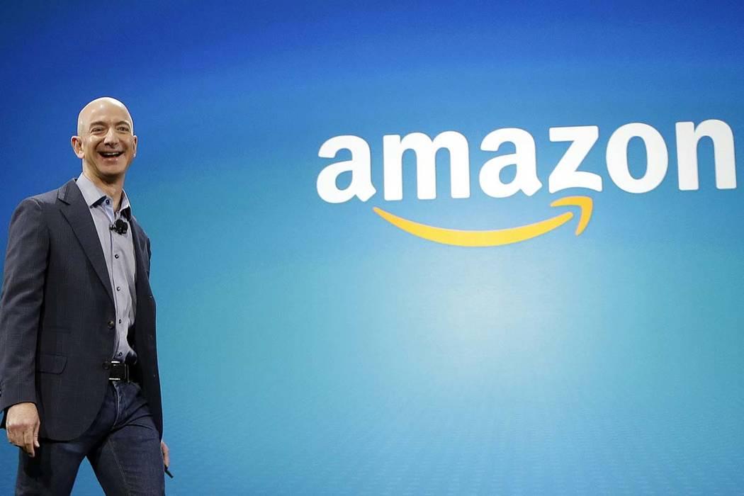 Amazon CEO Jeff Bezos (AP Photo/Ted S. Warren)