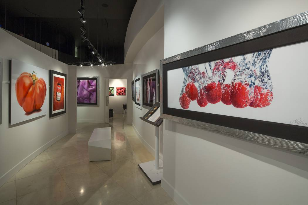 Nathan Myhrvold's Modernist Cuisine Gallery at The Forum Shops of Caesars Palace in Las Vegas.