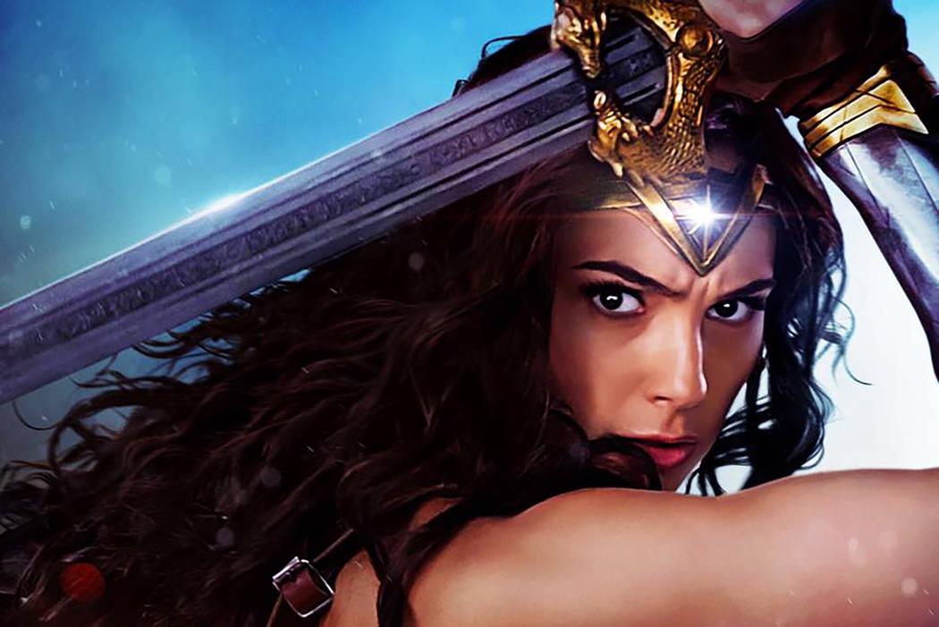 "Gal Gadot in ""Wonder Woman."" (Facebook)"