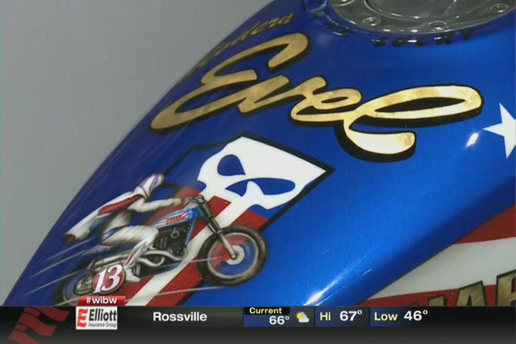 Daredevil Evel Knievel Leaps Into History At Kansas Museum