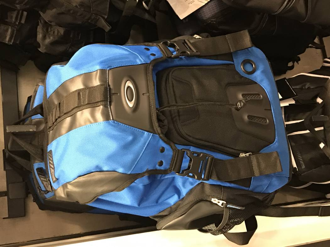 Oakley Gearbox LX backpack. (Bill Bradley/Las Vegas Review-Journal)