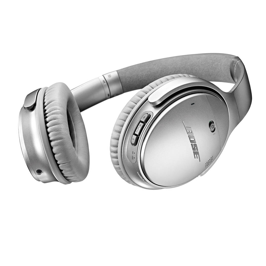 QC 35 headphones by Bose are a frequent flier's dream. (Bose)