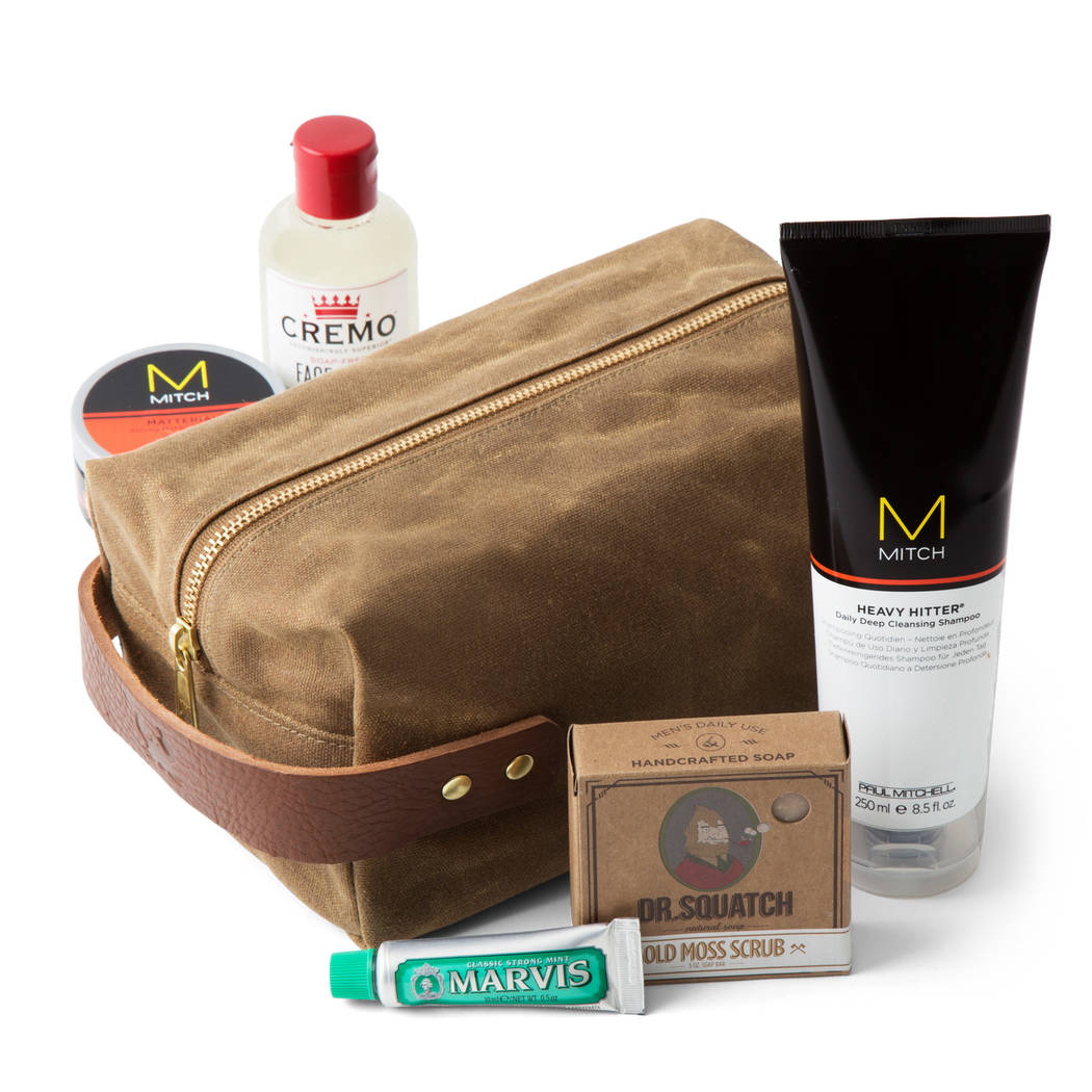 Bespokepost.com might send you a bag of shaving goodies one month. (BespokePost.com)