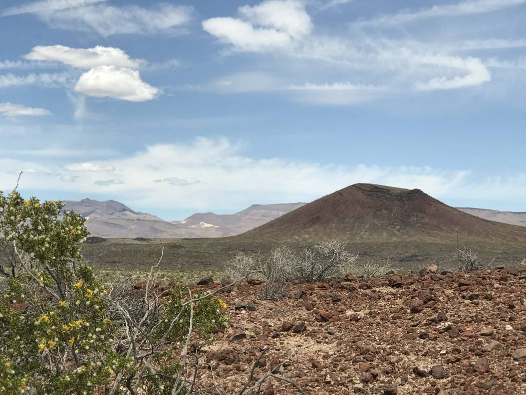 Black Cone in Crater Flat west of Yucca Mountain, May 22, 2017. Keith Rogers Las Vegas Review-Journal