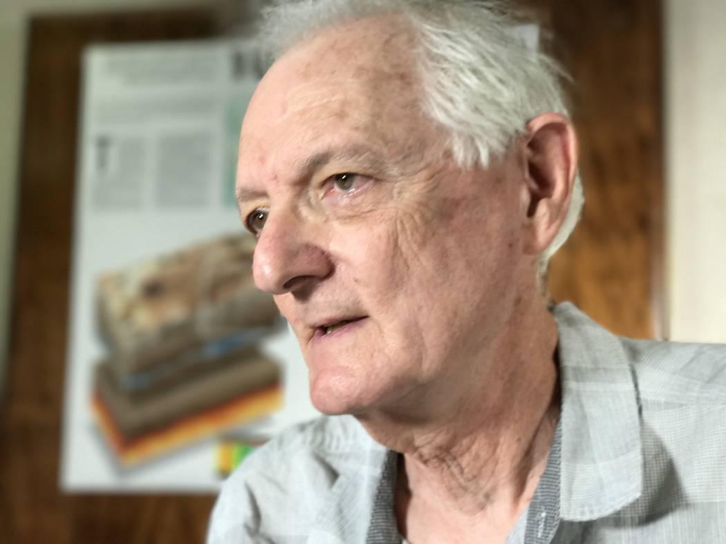 UNLV Emeritus Geology Professor Eugene Smith. Keith Rogers Las Vegas Review-Journal