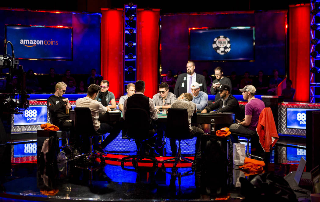 The World Series of Poker's $111,111 buy-in High Roller for One Drop No-limit Hold'em tournament at the Rio Convention Center on Monday, June 5, 2017. Patrick Connolly Las Vegas Review-Journal ...