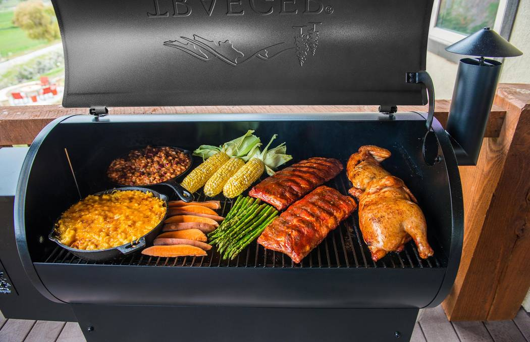 Home Depot Anything you can dream up, you can cook on a Traeger grill. Traeger cooks with wood‑fired convection power, which gives Traeger enthusiasts six different cooking methods to engage.
