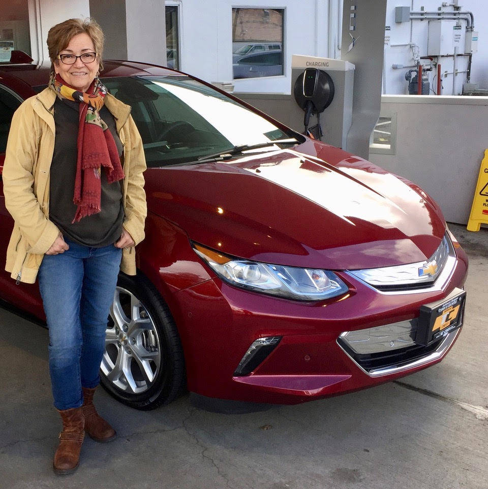Cynthia Ryan, chair of the Electric Auto Association of Northern Nevada, said she frequently drives her 2017 Chevy Volt plug-in hybrid to the Bay Area. Ryan said she is happy to see the state step ...