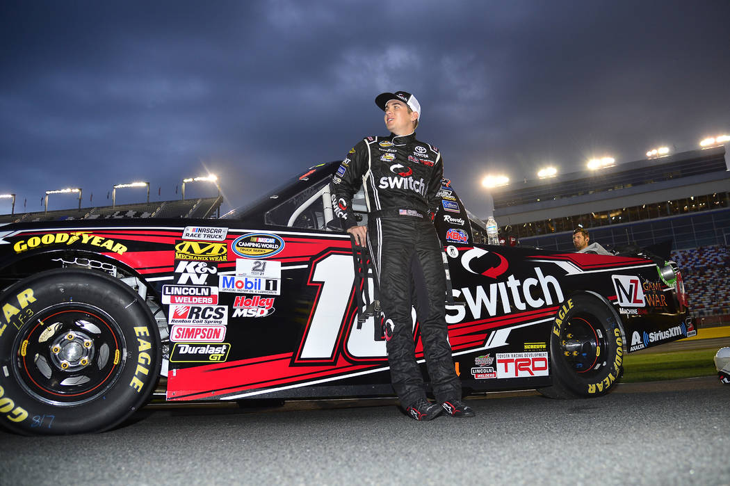 NASCAR Camping World Truck Series North Carolina Education Lottery 200 Charlotte Motor Speedway, Concord, NC USA Friday 19 May 2017 Noah Gragson, Switch Toyota Tundra World Copyright: John K Harre ...