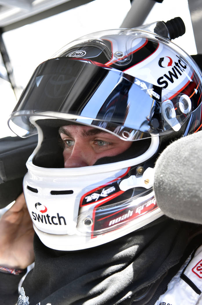 NASCAR Camping World Truck Series Bar Harbor 200 Dover International Speedway, Dover, DE USA Thursday 1 June 2017 Noah Gragson, Switch Toyota Tundra World Copyright: Nigel Kinrade NKP