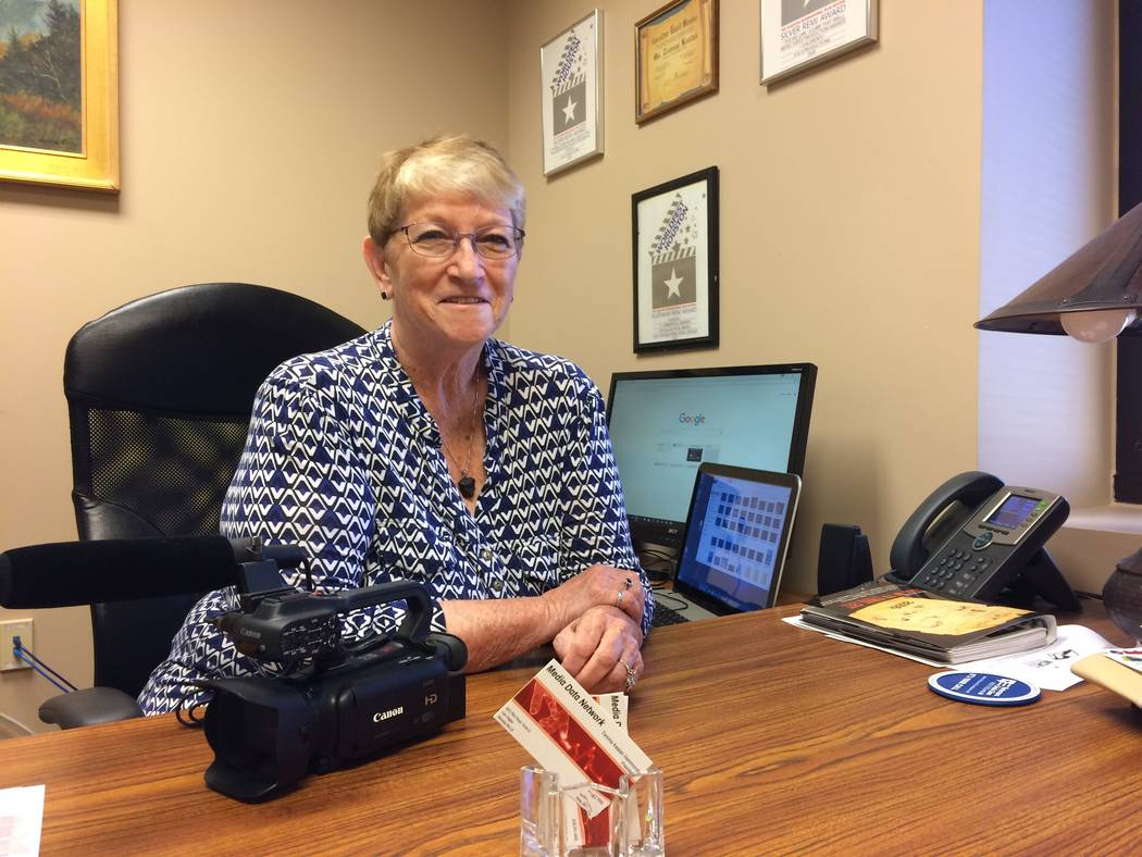 Temma Hammond talks May 23, 2017, about setting up the Media Data Network and what it means for seniors. She called it an untapped market, in need of a network that better catered to their needs.  ...