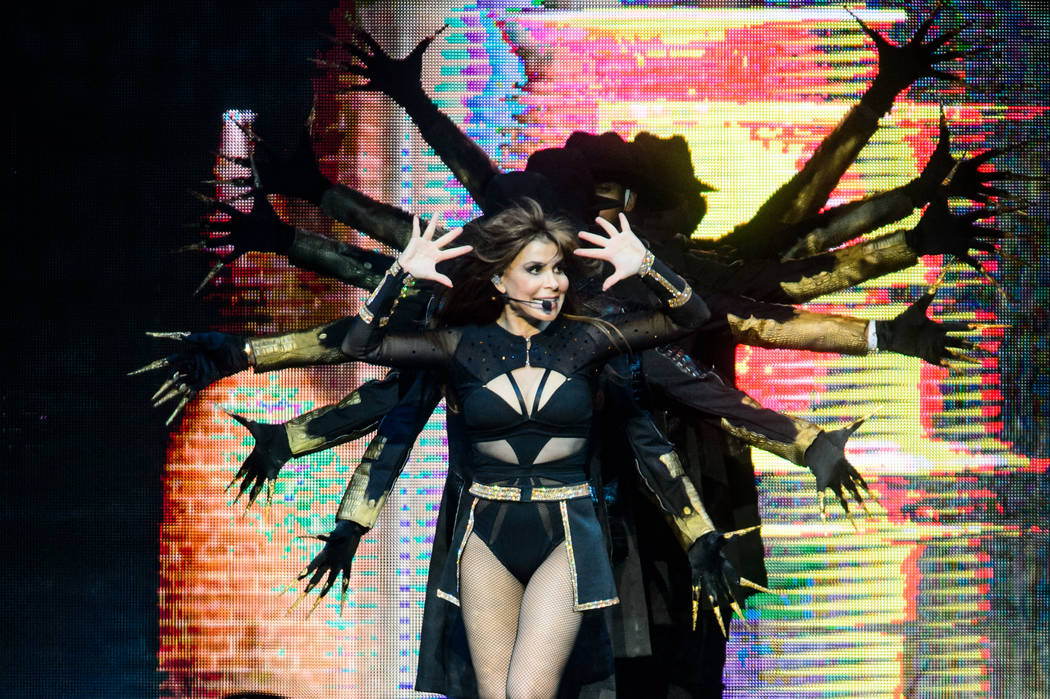 Paula Abdul performs at T-Mobile Arena on Sunday, May 28, 2017, in Las Vegas. (Brenton Ho/Powers Imagery for T-Mobile Arena)