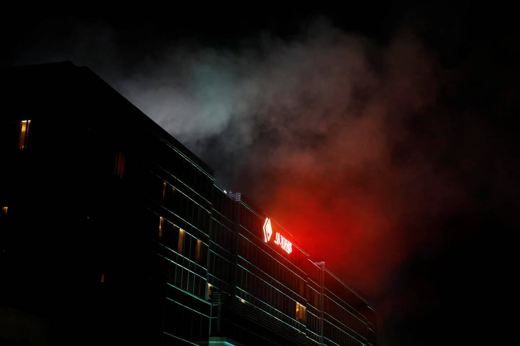 Smoke billows from the Resorts World building in Pasay City, Metro Manila, Philippines June 2, 2017. (Erik De Castro/Reuters)