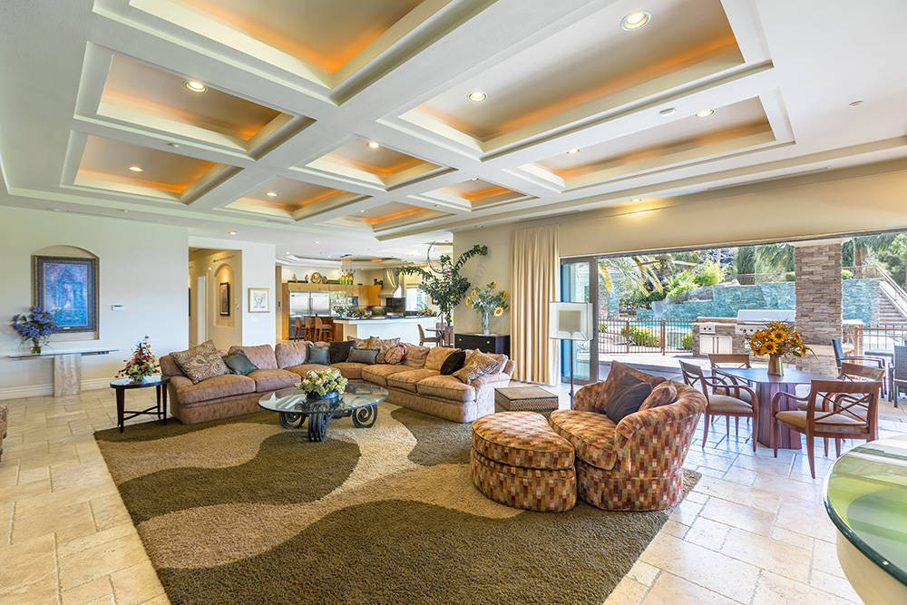 The home was built by Las Vegas architect Richard Luke. (Realty ONE Group)