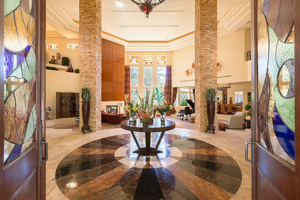 The entrance is grand. (Realty ONE Group)