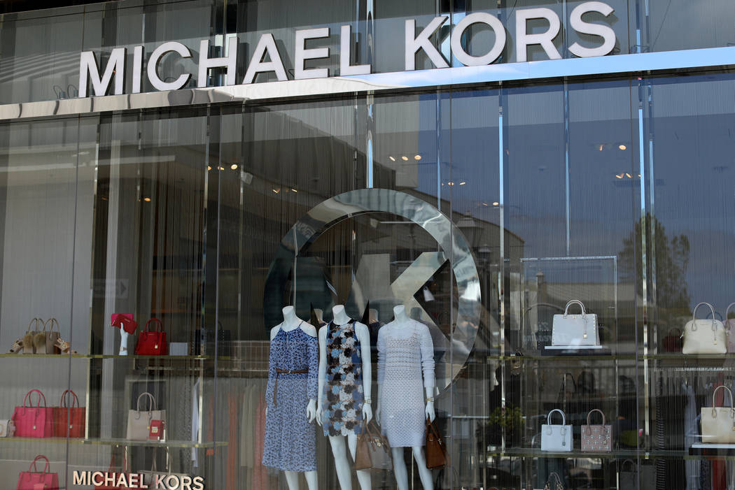 A Michael Kors Holdings Limited retail store is shown in La Jolla, California, U.S., May 17, 2017. (Mike Blake/Reuters)