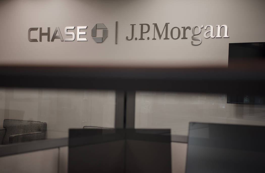 JPMorgan Chase in Las Vegas on Wednesday, June 7, 2017. It is the company's first commercial banking office in Las Vegas. Morgan Lieberman Las Vegas Review Journal