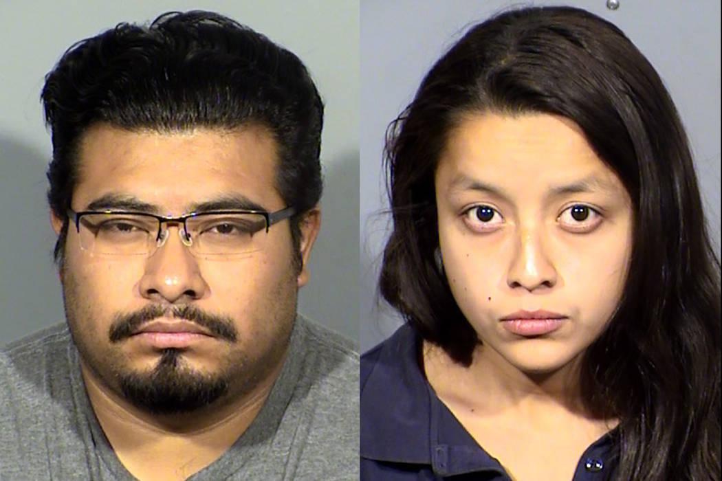 Javier Paz-Flores and Kasandra Sarabia (Las Vegas Metropolitan Police Department)
