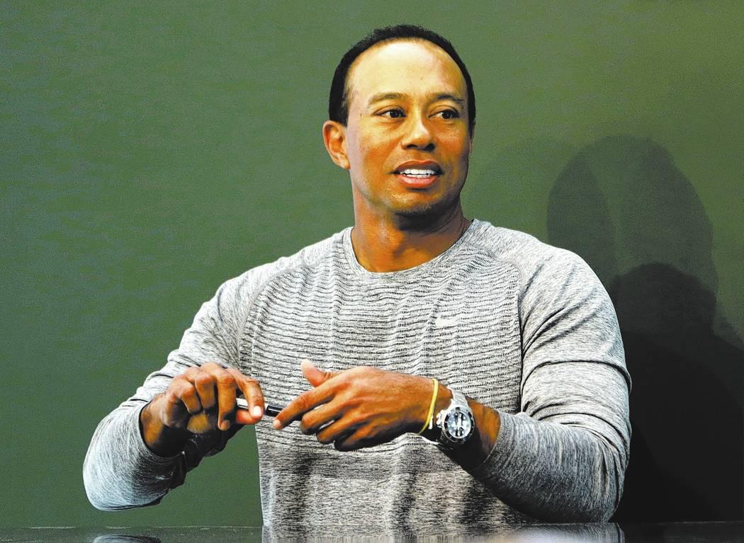 Tiger Woods. AP Photo/Seth Wenig