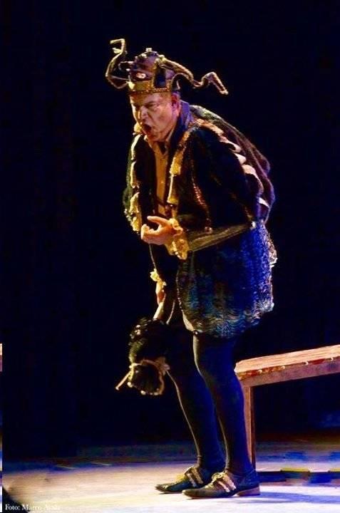 "Opera Las Vegas Michael Chioldi as ""Rigoletto's"" title character."