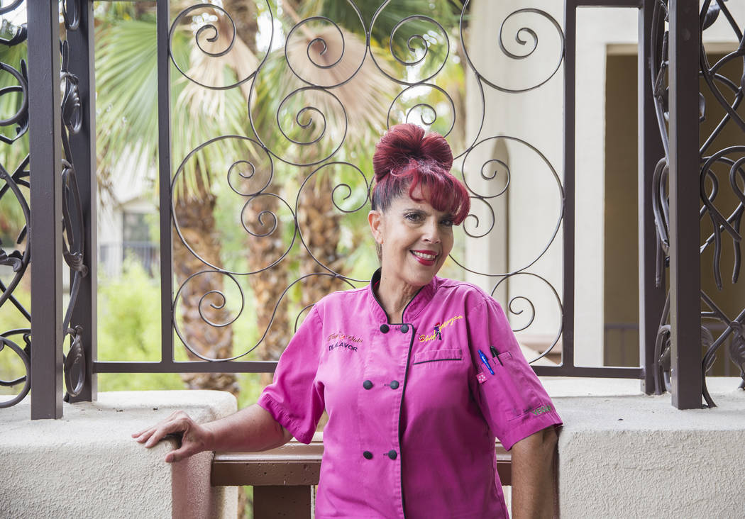 Chef Mayra Trabulse at Tuscany Suites hotel-casino on Wednesday, May 31, 2017, in Las Vegas. Benjamin Hager Las Vegas Review-Journal @benjaminhphoto