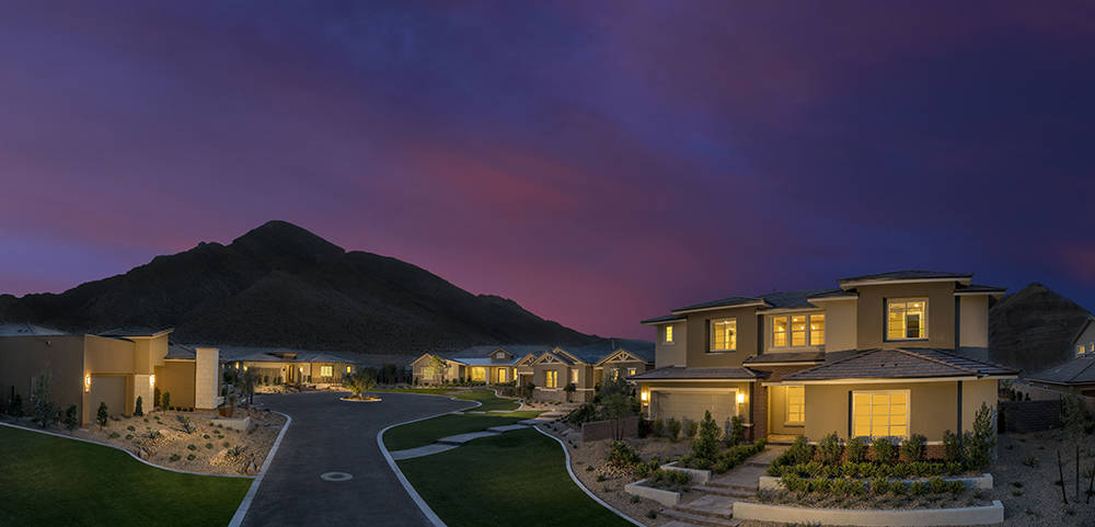 Reverence, a new Summerlin village, opens today. It offers six collections of homes with 23 floor plans in a range of transitional and contemporary designs inspired by craftsman, prairie, hacienda ...