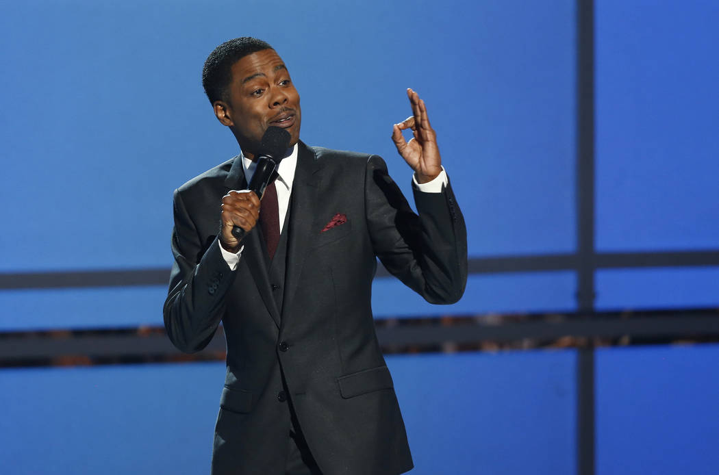 Host Chris Rock speaks during the 2014 BET Awards in Los Angeles, California June 29, 2014. Reauters Mario Anzuoni