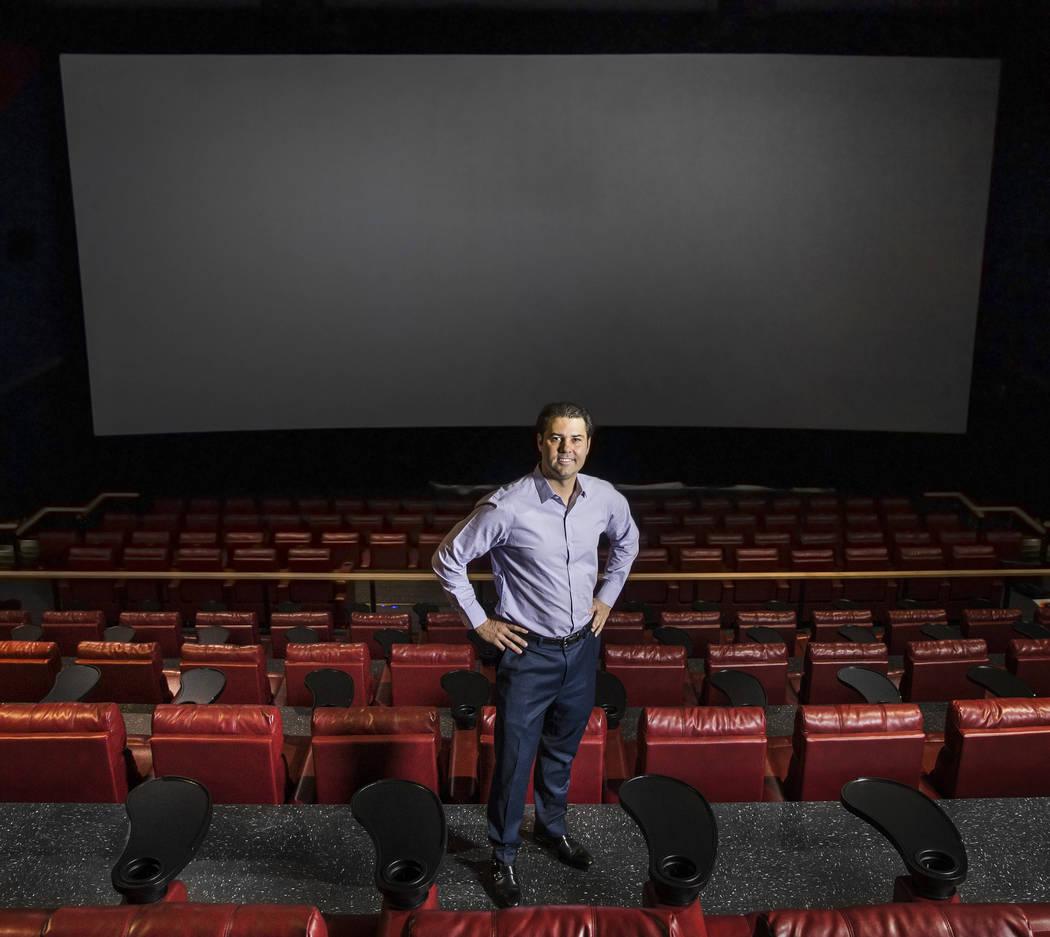 Milo Kostelecky, president of the Las Vegas Film Festival, at Brenden Theatres, at Palms hotel-casino on Thursday, June 1, 2017, in Las Vegas. Benjamin Hager Las Vegas Review-Journal @benjaminhphoto