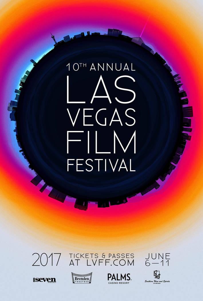Provided Art: The official poster for the 10th annual Las Vegas Film Festival via festival president Milo Kostelecky .