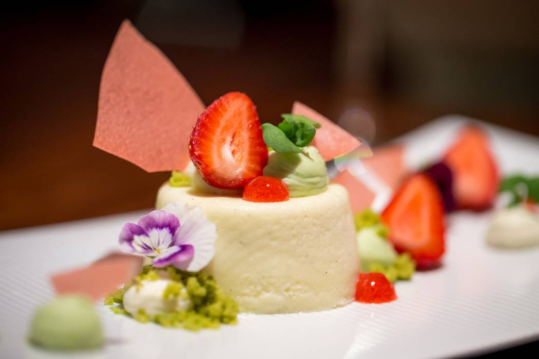 Vanilla mascarpone cheesecake (Gordon Ramsay Steak)