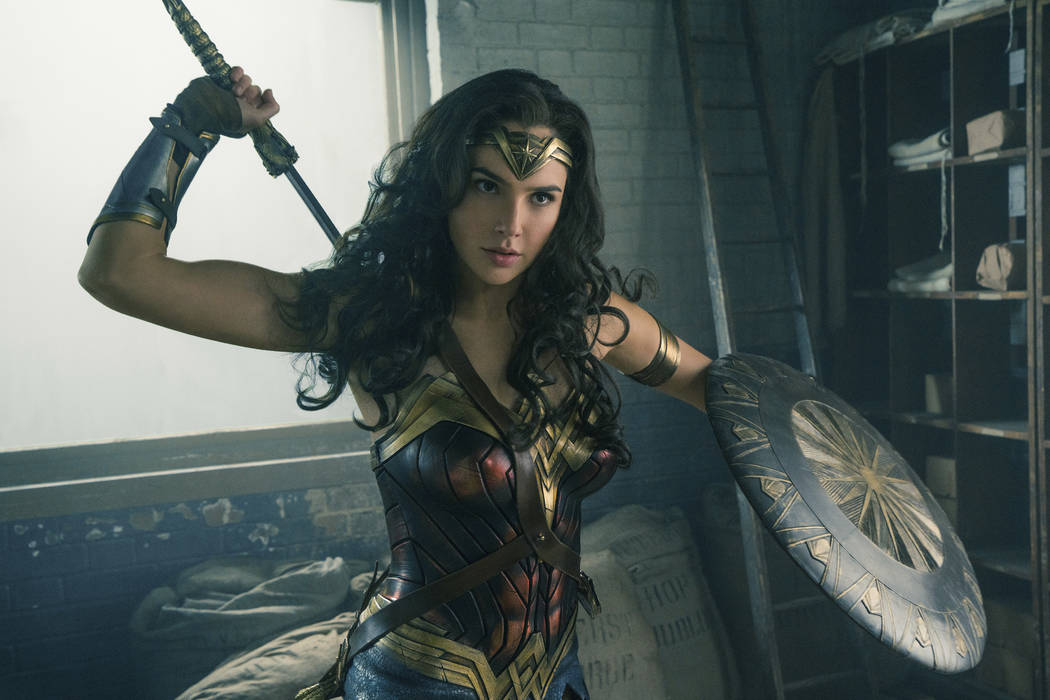 "Gal Gadot in a scene from ""Wonder Woman"" (Clay Enos/Warner Bros. Entertainment via AP)"