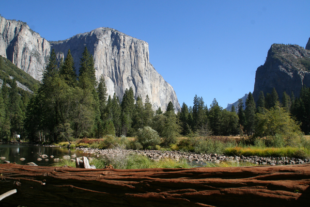 El Capitan is a 3,000-foot-high granite monolith popular with climbers at Yosemite National Park, Calif. (Deborah Wall/Special to View)