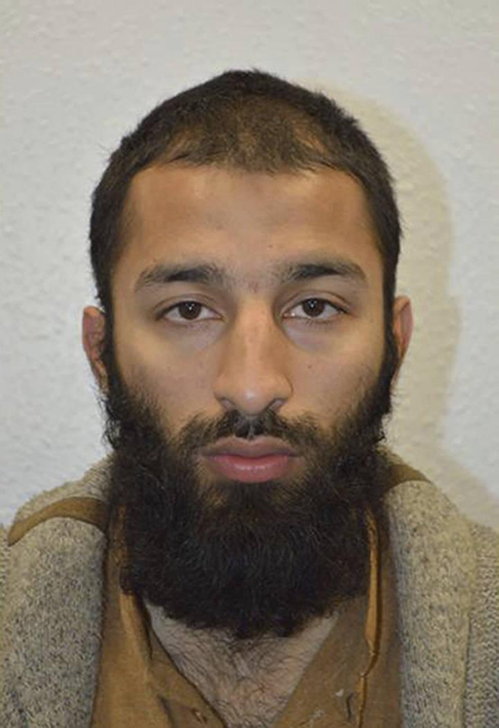 Khuram Shazad Butt (Metropolitan Police via AP)