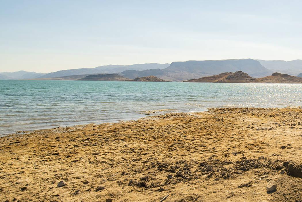 Boulder Beach at Lake Mead (Las Vegas Review-Journal)