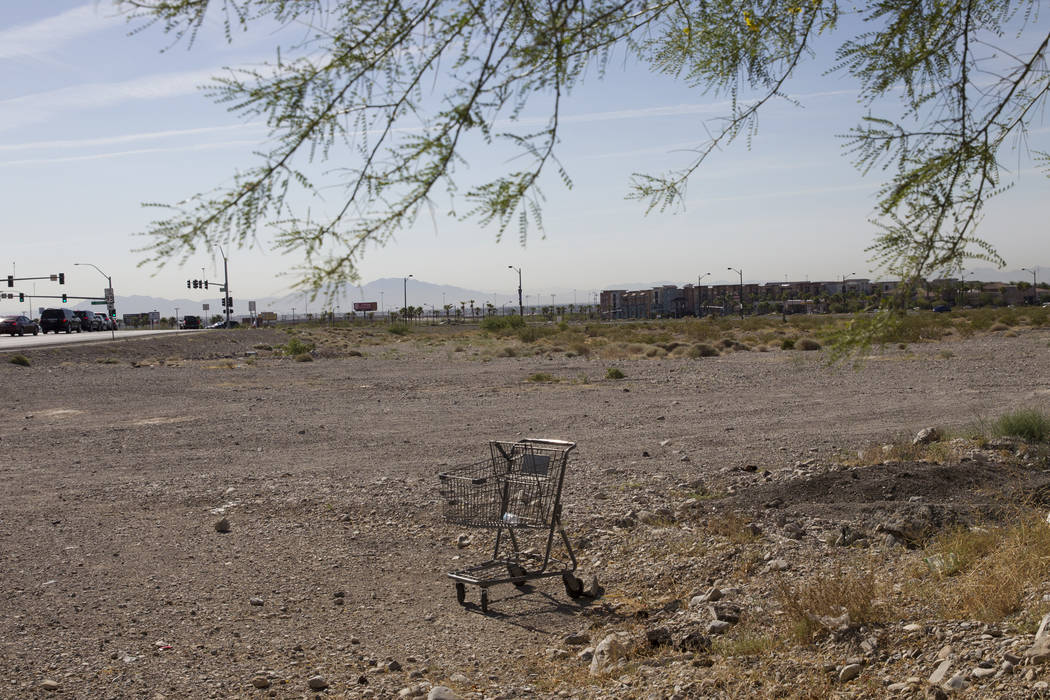 The future site for the College of Southern Nevada Northwest Campus near the intersection of Elkhorn Road and Grand Montecito Parkway on Tuesday, June 6, 2017 in Las Vegas. Erik Verduzco/Las Vegas ...