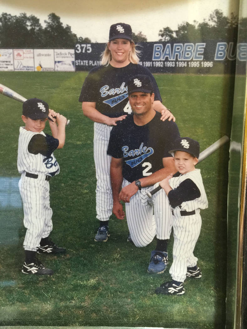 From left, Garin, Raissa, Glenn and Gavin Cecchini (family photo)