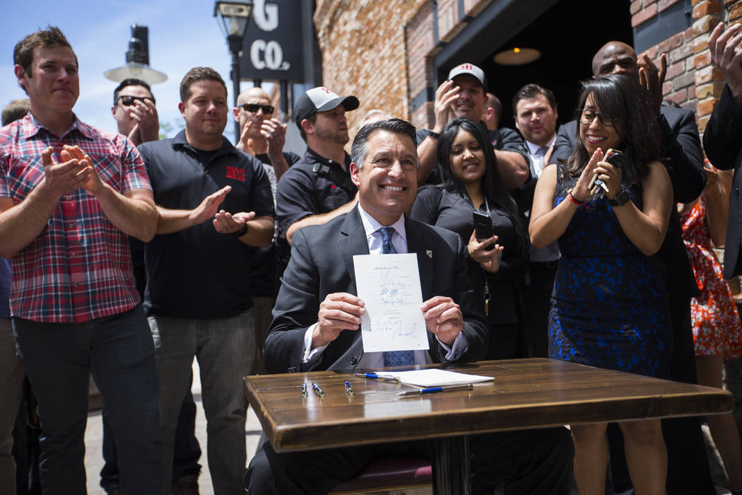 Capital Ford Carson City >> Bill signings give Sandoval something to drink to | Las Vegas Review-Journal