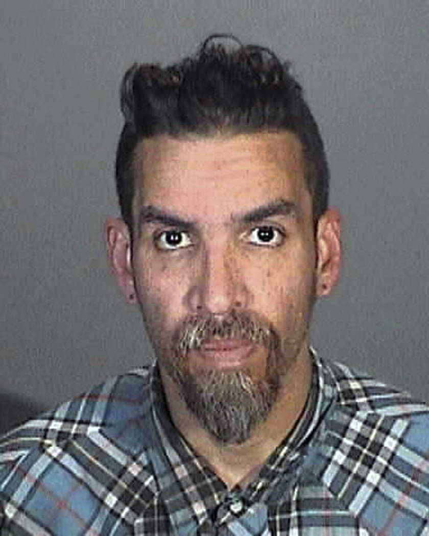 FILE - This March 12, 2015 file booking photo provided by the Glendale, Calif., Police Department shows Derick Ion Almena. Almena was an operator of the Ghost Ship warehouse in Oakland, in which d ...