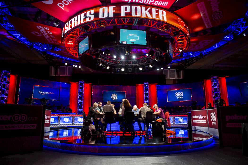 The $111,111 buy-in High Roller for One Drop No-Limit Hold'em event at the World Series of Poker at the Rio Convention Center on Monday, June 5, 2017. Patrick Connolly Las Vegas Review-Journal @PC ...