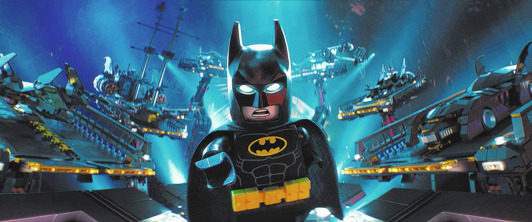"Batman (WILL ARNETT) in the animated adventure ""The Lego Batman Movie,"" from Warner Bros. Pictures."